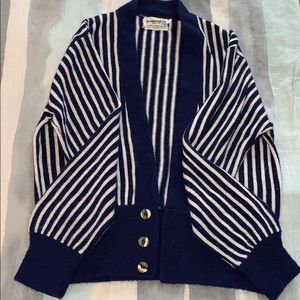 Sweaters - Vintage striped cardigan
